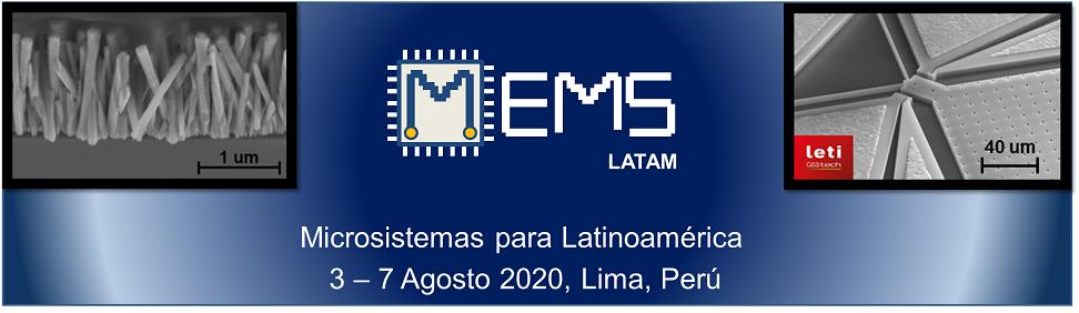 MEMS-LATAM 3-7 Julio 2019,Lima,Perú